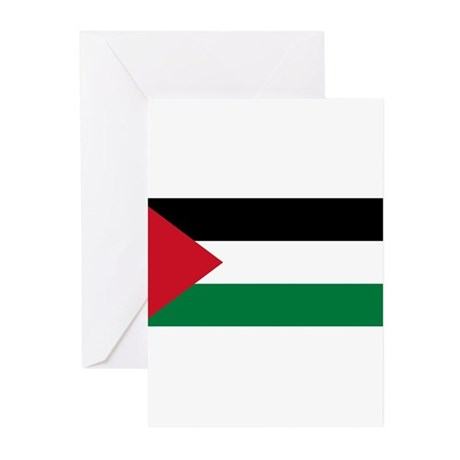 Palestine Flag Greeting Cards (Pk of 20)