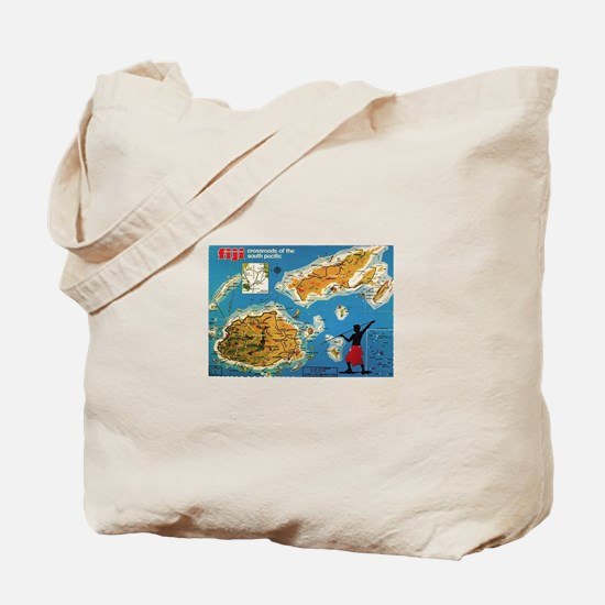 Vintage Fiji Tote Bag