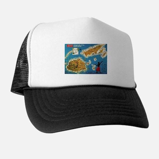 Vintage Fiji Trucker Hat