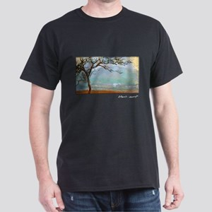 Monet Painting, Landscape at Giverny Dark T-Shirt