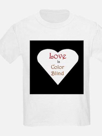 Interracial Love & Relationship Kids T-Shirt
