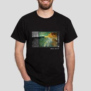 Monet Painting, Morning at Etretat, Dark T-Shirt