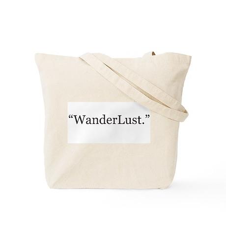 """""""Wander"""" Tote Bag"""