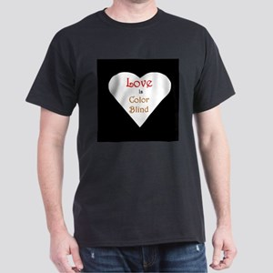 Interracial Love & Relationship Black T-Shirt