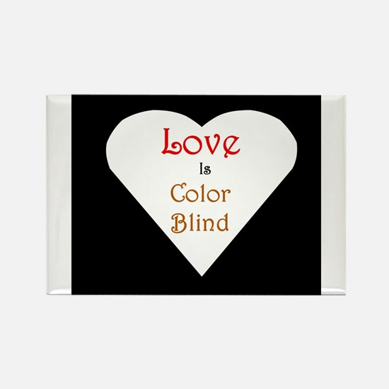 Interracial Love & Relationship Rectangle Magnet
