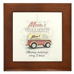 MM Mom's Milk Express Framed Tile