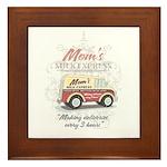 MM Mom's Milk Express Framed Tile