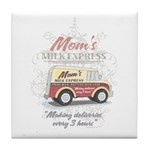 MM Mom's Milk Express Tile Coaster