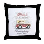 MM Mom's Milk Express Throw Pillow