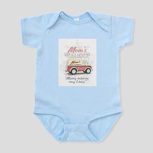 MM Mom's Milk Express Infant Creeper