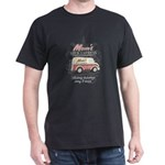 MM Mom's Milk Express Black T-Shirt