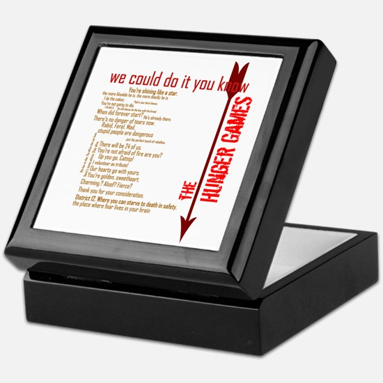 we could do it you know Keepsake Box