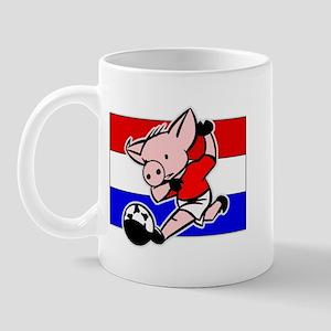 Croatia Soccer Pigs Mug