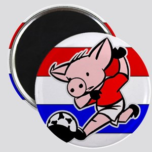 Croatia Soccer Pigs Magnet