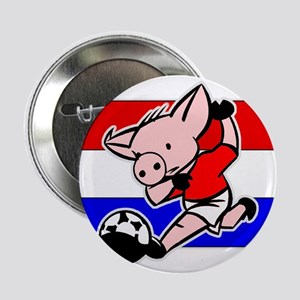 Croatia Soccer Pigs Button