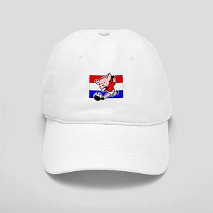 Croatia Soccer Pigs Cap