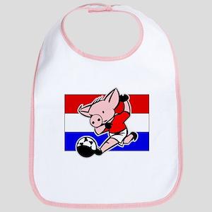 Croatia Soccer Pigs Bib
