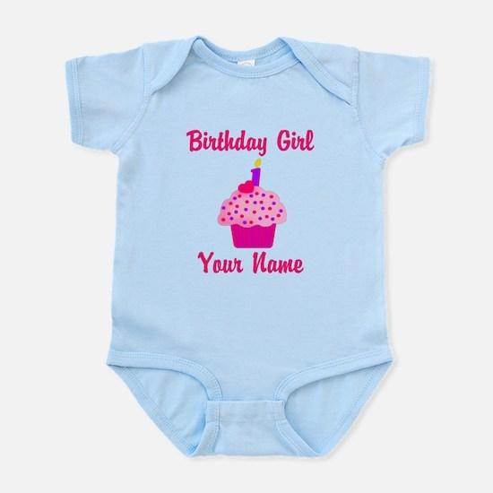 1st Birthday Cupcake Infant Bodysuit