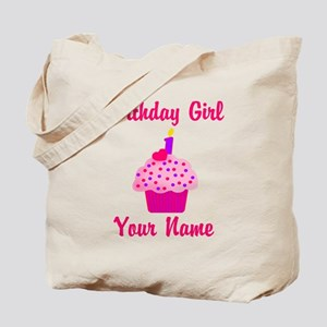 1st Birthday Cupcake Tote Bag