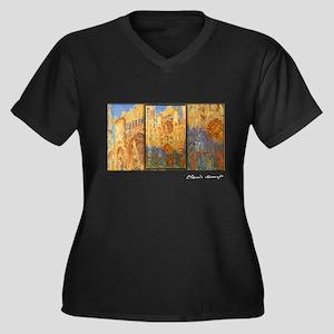 Monet Painting, Rouen Cathedral, Women's Plus Size