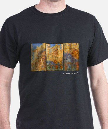 Monet Painting, Rouen Cathedral, T-Shirt