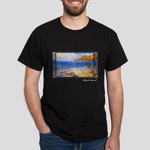 Sailing At Sainte Adresse, Monet, Dark T-Shirt