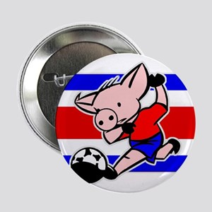 Costa Rica Soccer Pigs Button