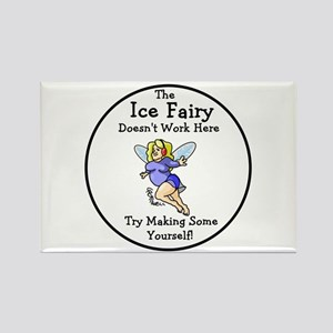 Ice Fairy Rectangle Magnet