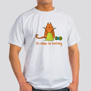 rather be knitting dark shirt T-Shirt