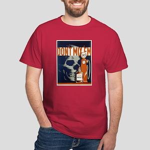 Don't Mix 'Em WPA Poster Dark T-Shirt