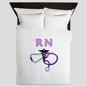 RN Nurse Medical Queen Duvet