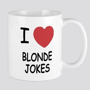 I heart blonde jokes Mug