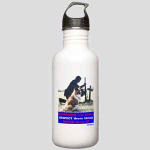 Remember our Fallen -- Stainless Water Bottle 1.0L