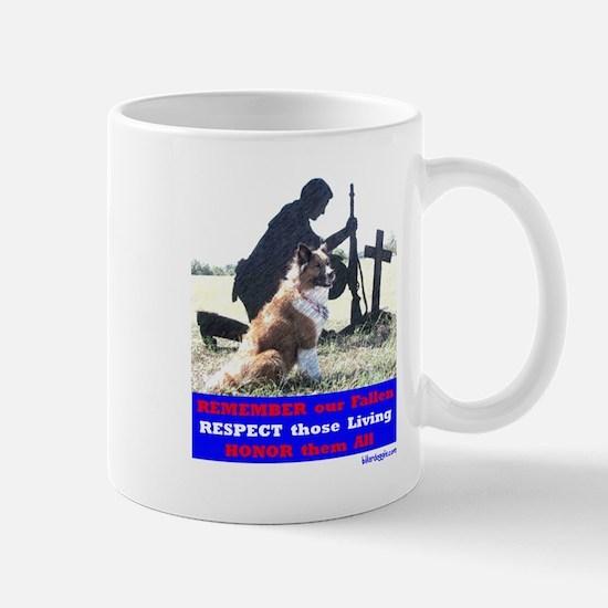 Remember our Fallen -- Mug