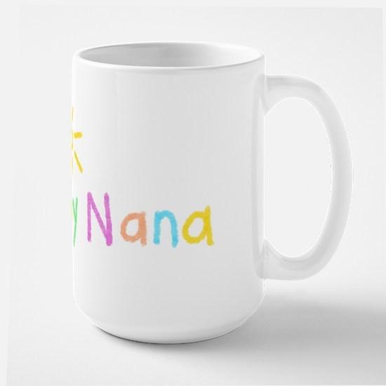 i Love My Nana Large Mug
