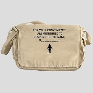 Forbidden Planet Messenger Bag