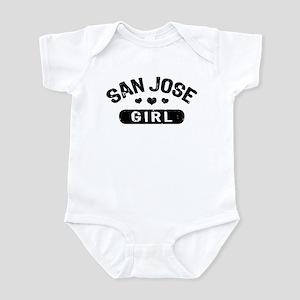 San Jose Girl Infant Bodysuit