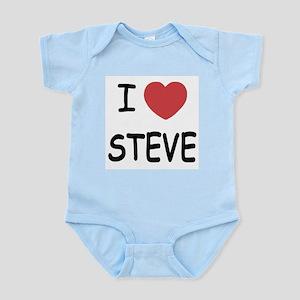 I heart steve Infant Bodysuit