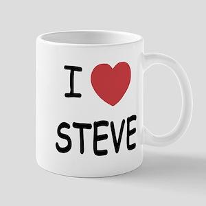 I heart steve Mug