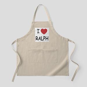 I heart ralph Apron