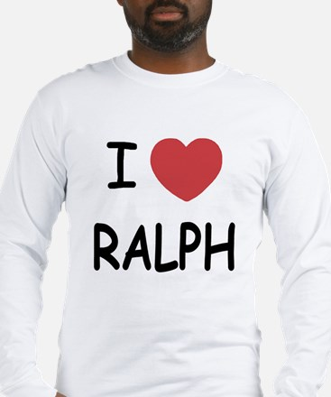 I heart ralph Long Sleeve T-Shirt
