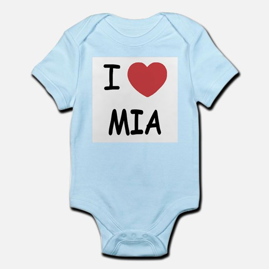 I heart mia Infant Bodysuit