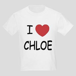 I heart chloe Kids Light T-Shirt