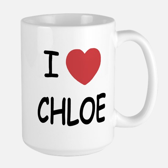 I heart chloe Large Mug