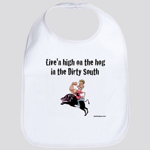 live'n high on the hog Bib