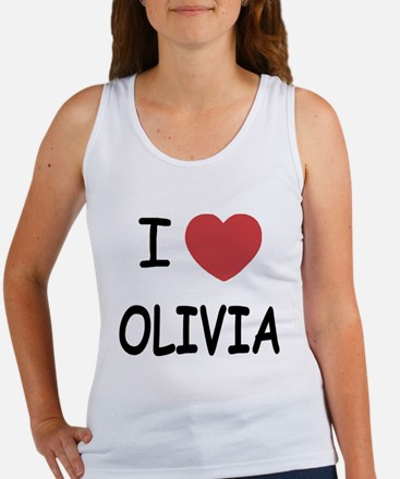 I heart olivia Women's Tank Top