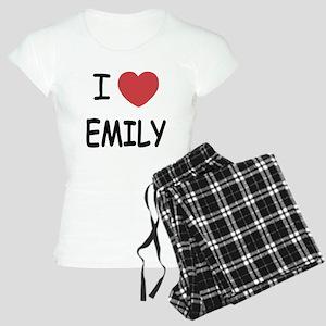 I heart emily Women's Light Pajamas