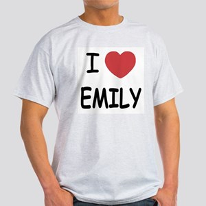I heart emily Light T-Shirt