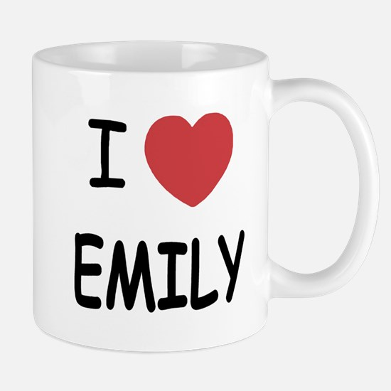 I heart emily Mug
