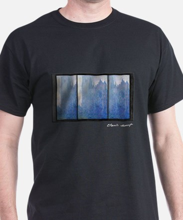 Rouen Cathedral in the Fog, Monet, T-Shirt